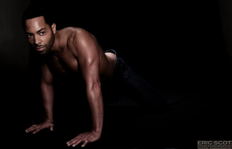 Male model photo shoot of D Phoenix by Eric Scot Photo in Pasadena, CA
