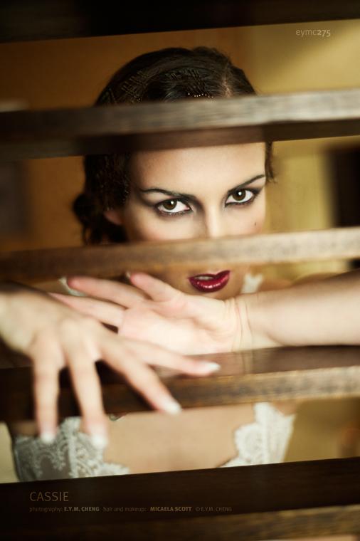 Female model photo shoot of Cassie Jade in The Glasshouse, Edinburgh