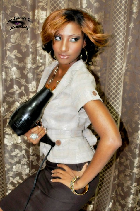 Female model photo shoot of terah baby