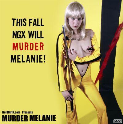 Female model photo shoot of Melanie Murder in NYC