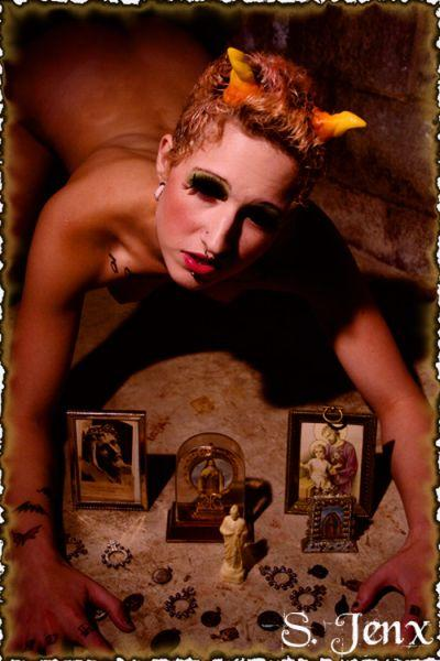 Female model photo shoot of Melanie Murder in Morton pa