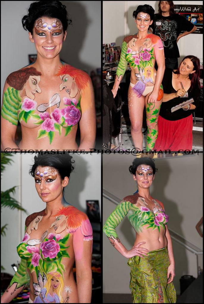 Gold Coast Oct 05, 2010 TL Photographer Body Paint Expo