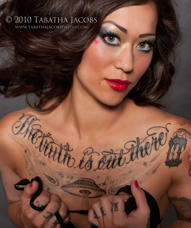 Houston Oct 05, 2010 2010 Tabatha Jacobs Christina for Inked Magazine 2010 Special Edition