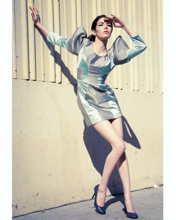Los Angeles Oct 05, 2010 Designer: Alexis Evelyn Model: Alexandra Mathew Photographer: Katee Laine Heagen Make-up: Kara Breen Robot Dress