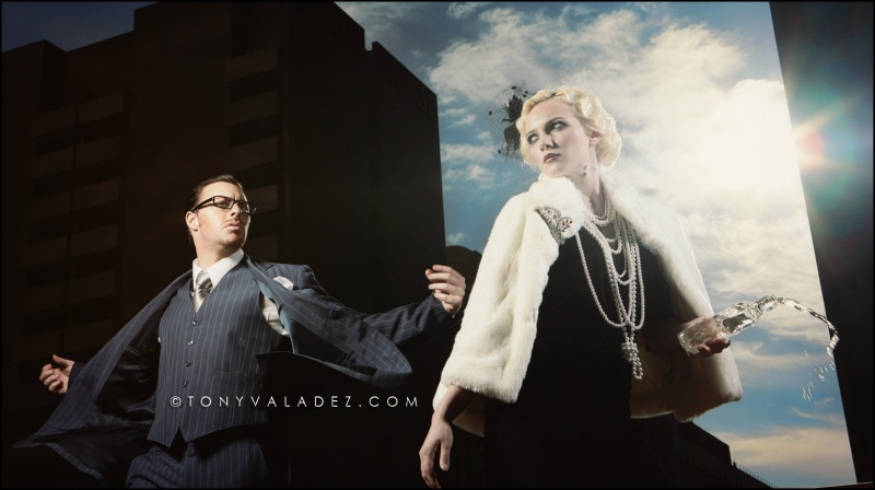 Male and Female model photo shoot of CHRISTIAN M and Anna_B by TONY  VALADEZ in Dallas TX
