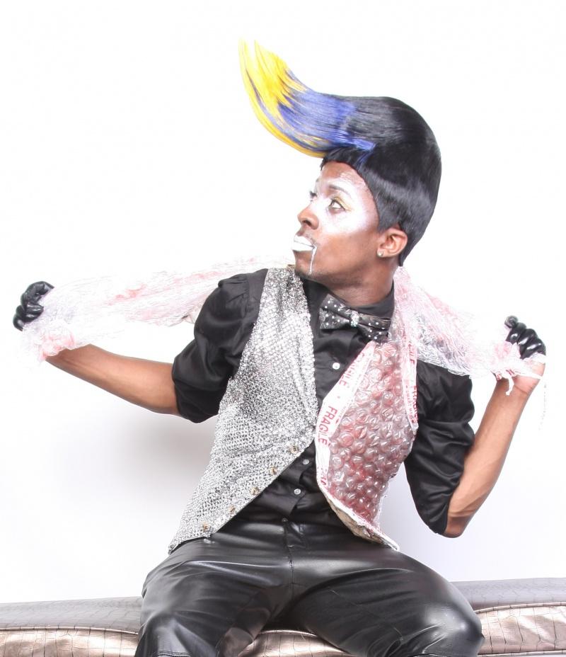 Male model photo shoot of Da Hair Genius