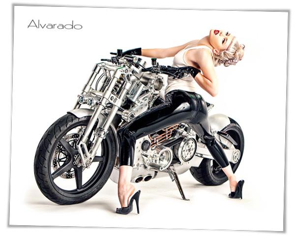 RED Studios Hollywood Oct 07, 2010 Robert Alvarado Mosh Confederate P120 Fighter Motocycle