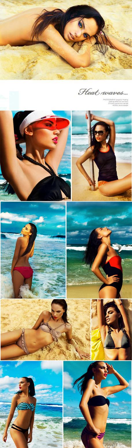 Female model photo shoot of Suryanty Thoeng