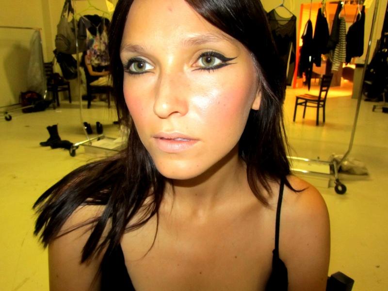 Female model photo shoot of Faral Nemez in Eau CLaire Market
