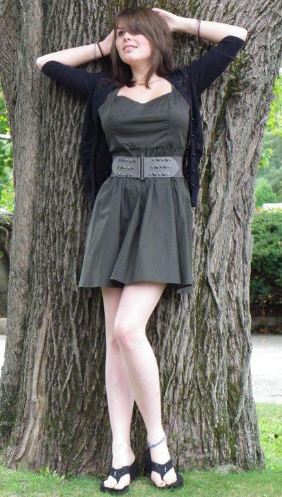 Female model photo shoot of Alice Heikkinen in Groton Cemetery