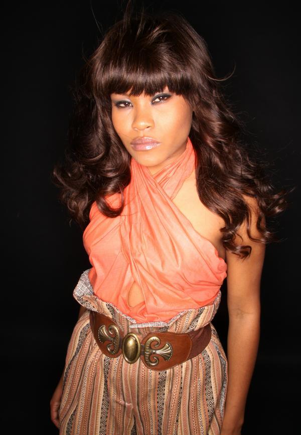 Female model photo shoot of Safiyyah Muhsin, hair styled by  Johnna hairstylist