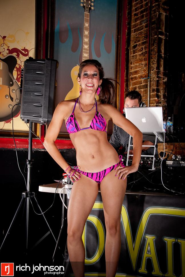 Female model photo shoot of AsylumFashionHouse in Central Station Bar, Orlando, FL