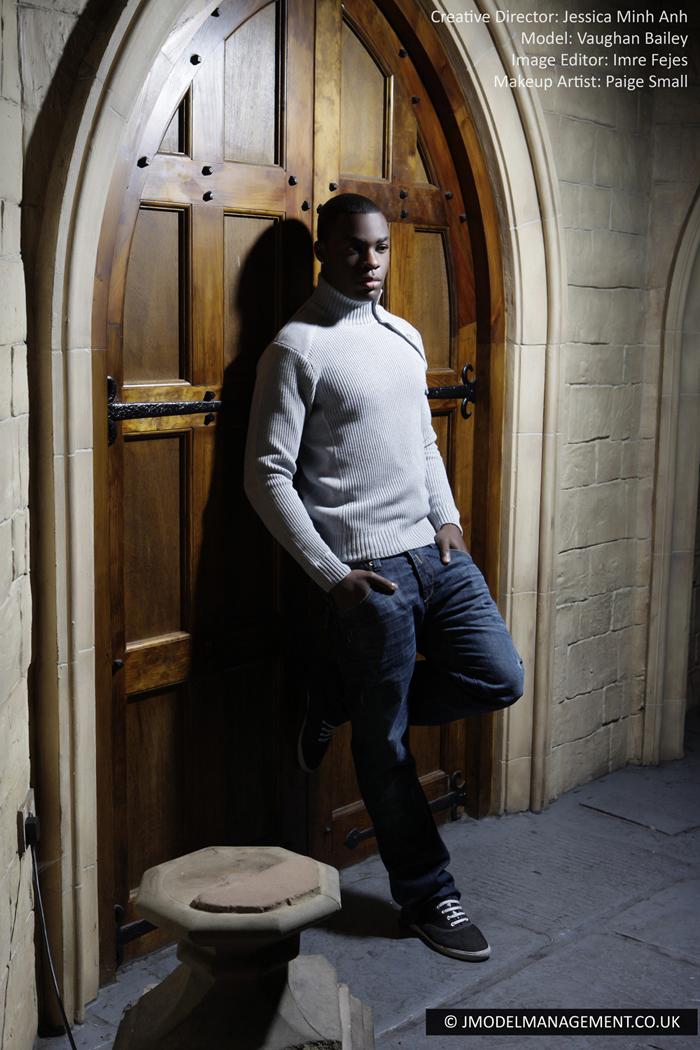 Male model photo shoot of Vaughan Bailey