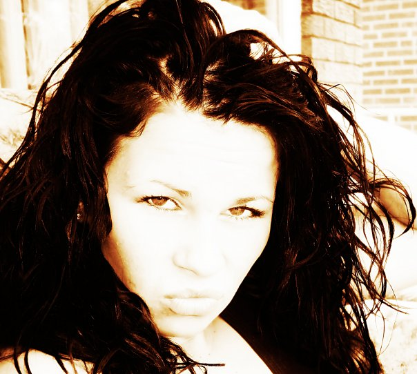 Female model photo shoot of sylvia rozenek in My home