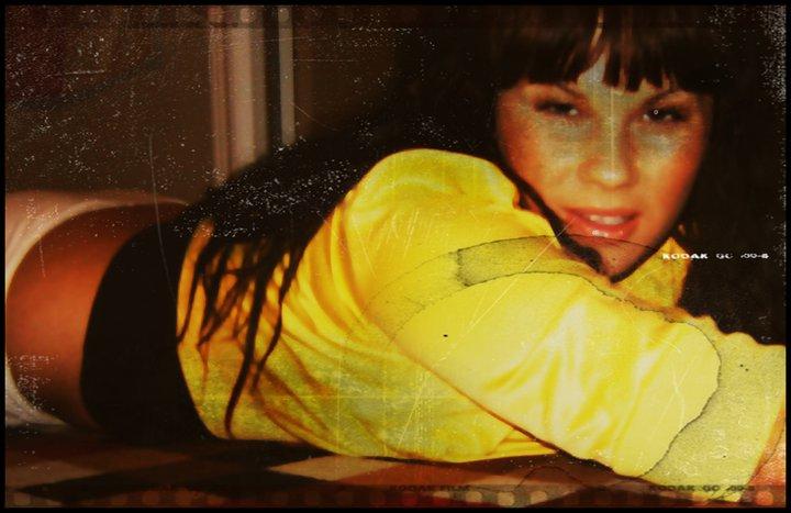 Female model photo shoot of sylvia rozenek in My home.