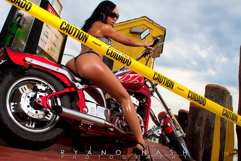 Female model photo shoot of SashaSoBadd by Desear Photography