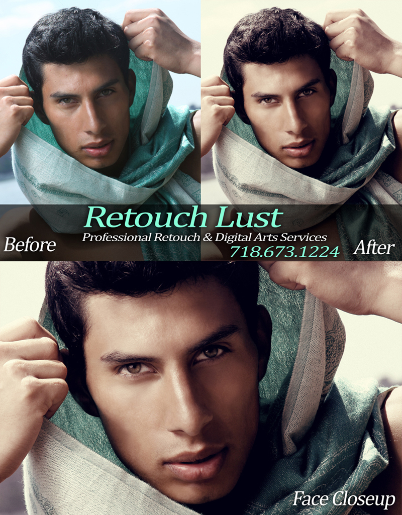Male model photo shoot of Retouch Lust by Giuseppe Luzio in Retouch Lust - Professional Digital Retouch & Digital Arts Services