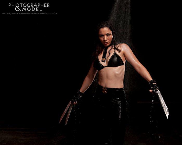 Darkness Oct 17, 2010 Photographer: Ron Davis - LanaMarieLive.com Lana as X-23 - xmen/marvel comics