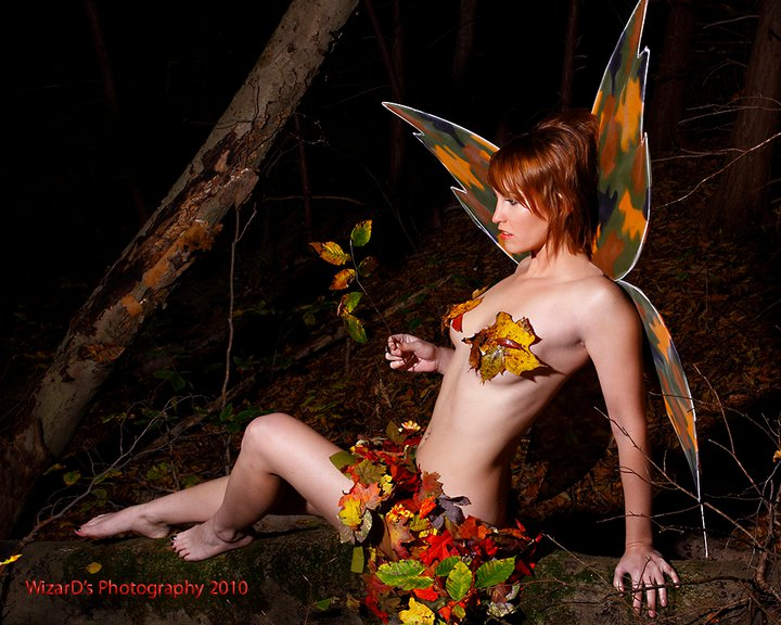Delevan, NY Oct 19, 2010 WizarDs Photography Fall Fairy