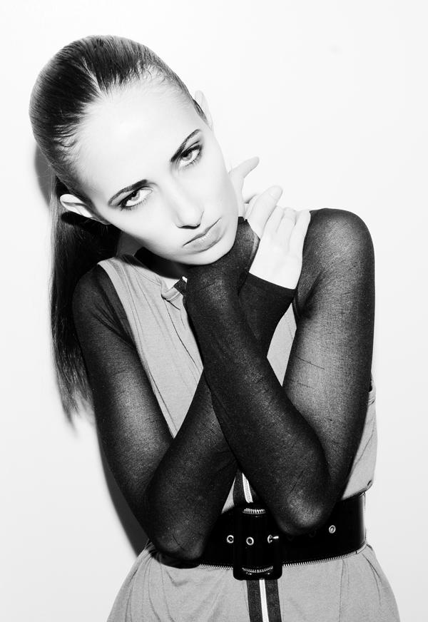 Female model photo shoot of Nikola B by Megan Gardner