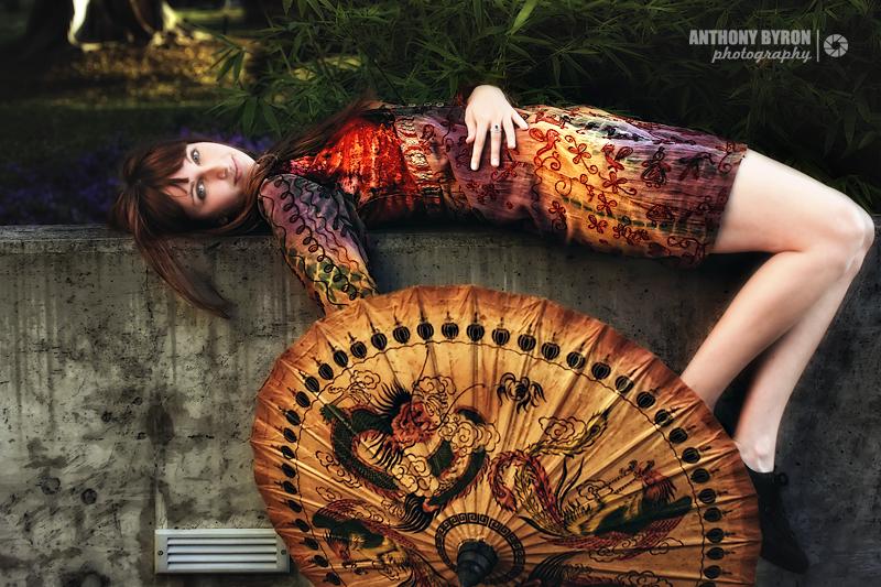 Female model photo shoot of Lauren-Alice by Anthony Byron in Powerhouse