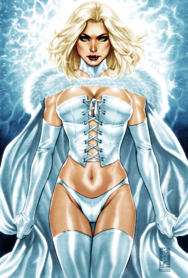 Oct 21, 2010 Marvel comics and Mark brooks Emma Frost- White Queen