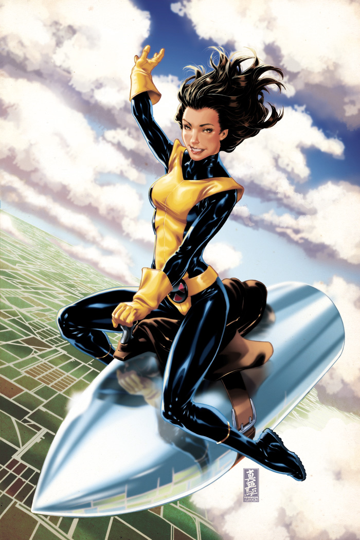 Oct 21, 2010 Marvel Comics and Mark Brooks Kitty Pryde