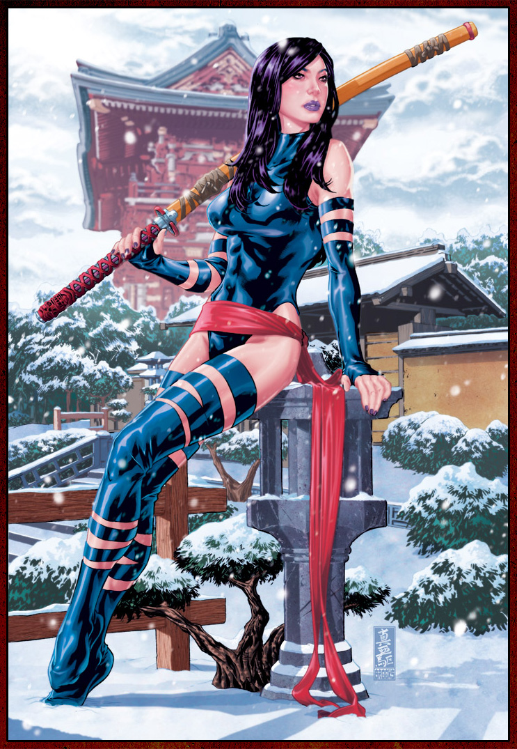 Oct 21, 2010 Marvel Comics and Mark Brooks Psylocke
