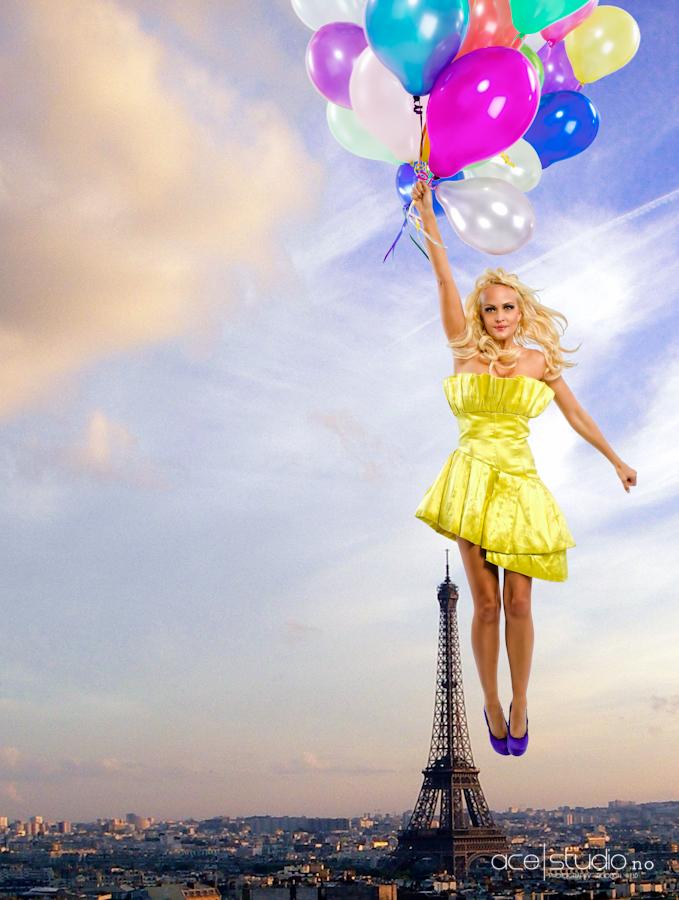 Oct 21, 2010 © Charles Lloyd-Williams Balloon Chic