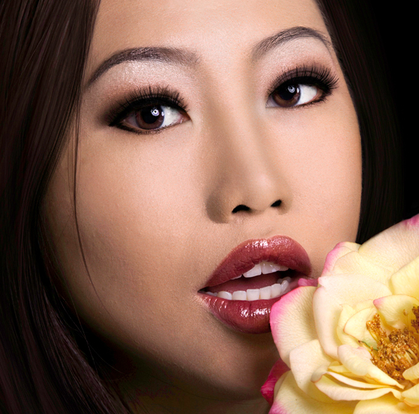 Female model photo shoot of KMLStudio Makeup Artist by Xue Vue Photography