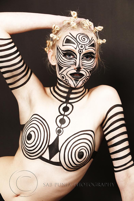 Oct 22, 2010 sab punia photography Tribal 1/Photographer/Hair /Makeup / Style = SAB PUNIA