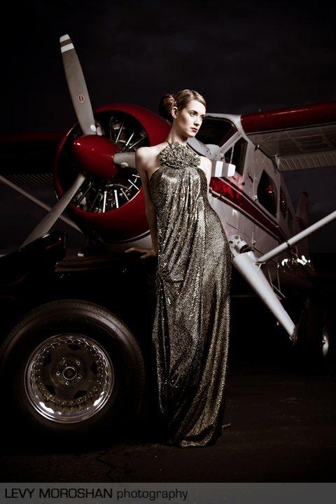 Oregon Oct 22, 2010 Levy Moroshan Modeling for Aimee JAdore Beaute