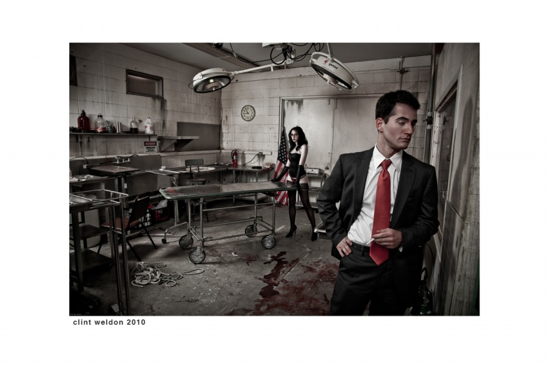 Sarasota, FL Oct 24, 2010 2010 Clint Weldon Blood for Oil