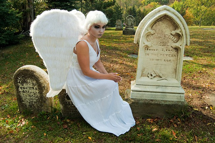 Oct 24, 2010 Aber photography Sad angel