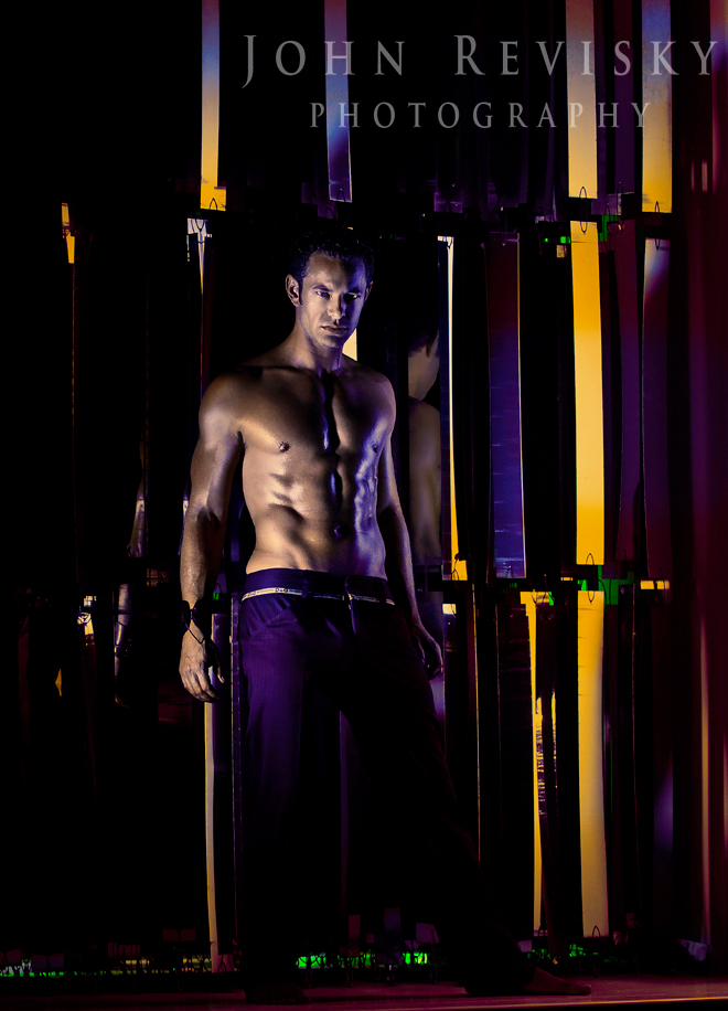 Male model photo shoot of Dustin Kyle