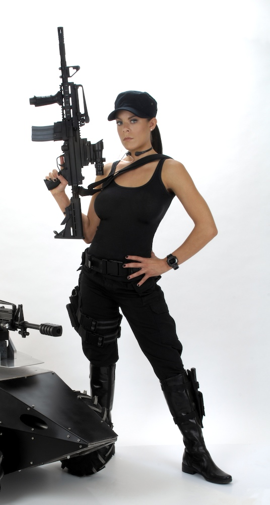 Twilight Productions Photo Studio Oct 26, 2010 © Chris Rogers SWAT Chick