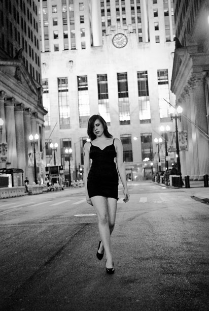 Downtown Chicago Oct 26, 2010 2010 Ken Mierzwa / Chrystyne This used to be my playground. Hair/MUA/Stylist: Chrystyne