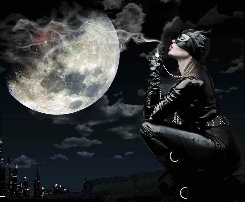Norwalk CT Oct 27, 2010 Full moon & catwoman Smoking Gun