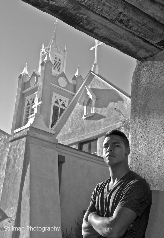 San Felipe de Neri Church (1793)  Old Town Plaza, Downtown Albuquerque, NM Nov 02, 2010 Stillman Photography Pride