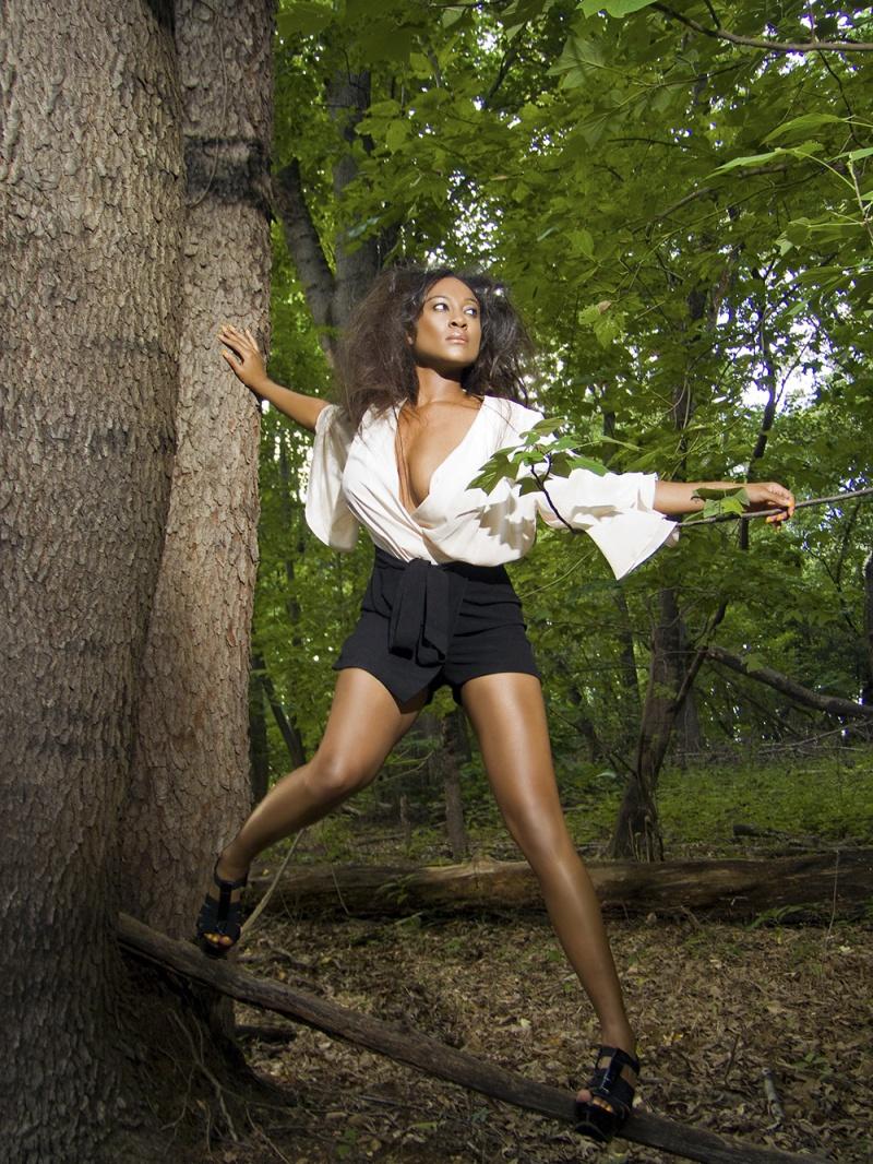 Female model photo shoot of Tiffani The Bombshell