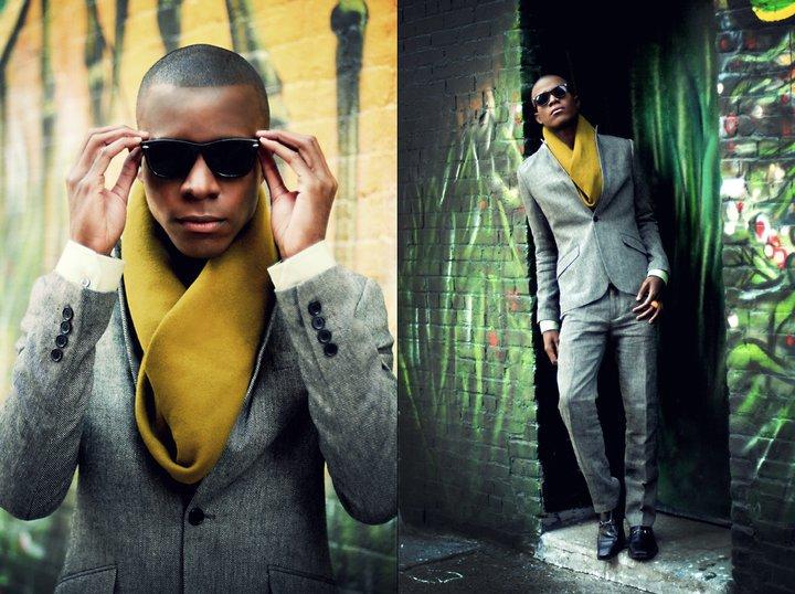Male model photo shoot of Mc L in Dumbo NY