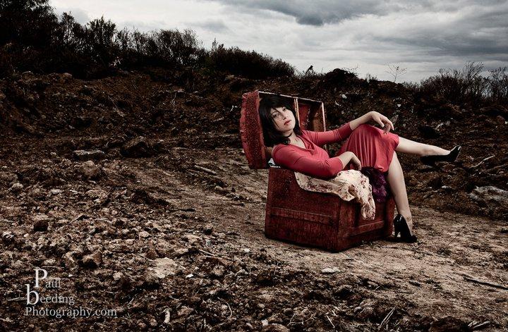 Female model photo shoot of Autumn in June by Paul Breeding