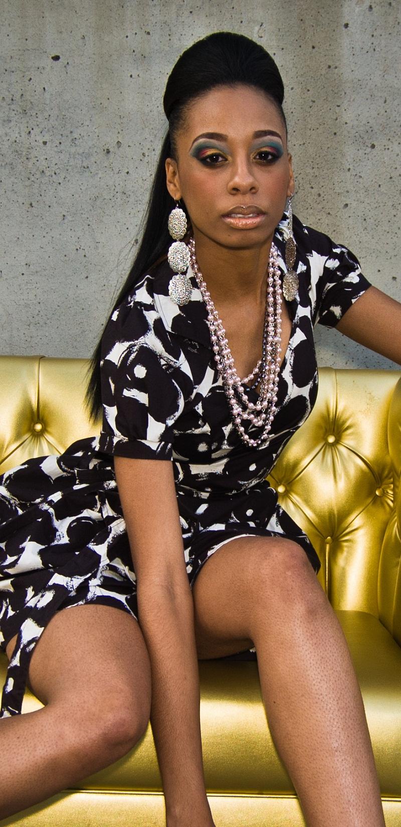 Female model photo shoot of mschevan in aurum lounge 10.23.2010