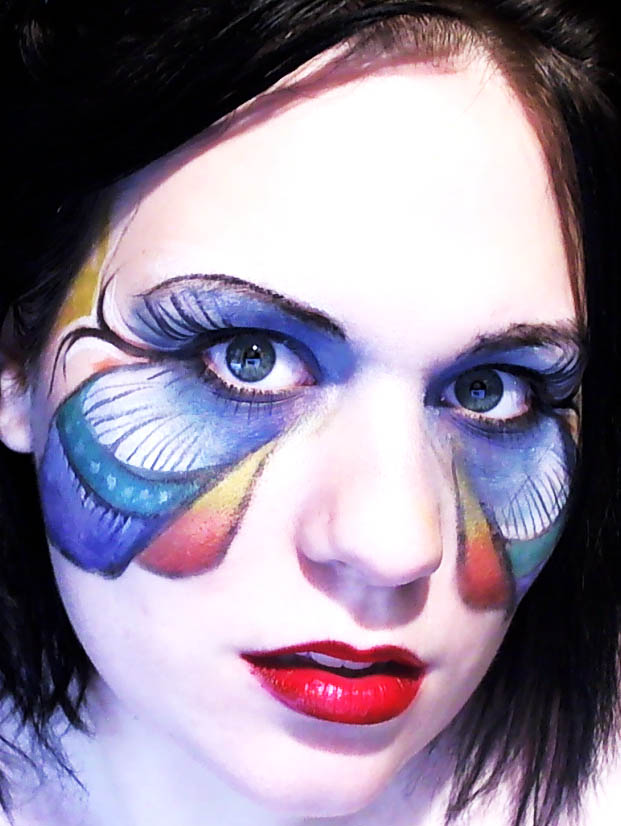 Atlanta, GA Nov 09, 2010 Allison Kellar 2010/Moonlit Visions Fly Away-Makeup Art