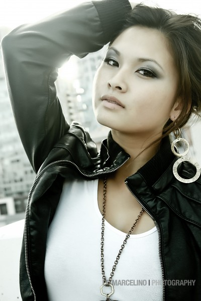 Female model photo shoot of Kelly_Huynh by Ed Marcelino in Downtown San Diego