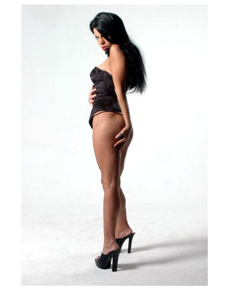 Female model photo shoot of nikita la tijera meow in la