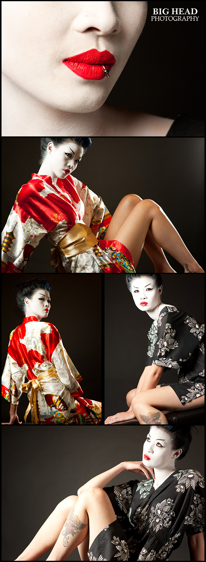Toronto Nov 11, 2010 Big Head Photography Modern day Geisha