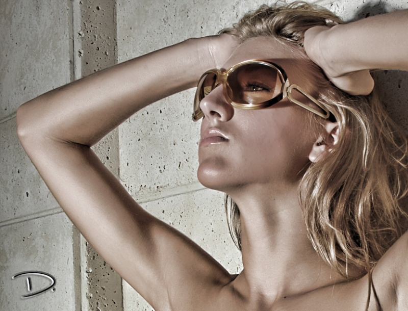 Male and Female model photo shoot of DAE Studio and Milk_Model