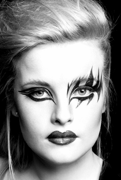 Nov 12, 2010 Make-up and Hair by Catherine Weldon Modern Black and White