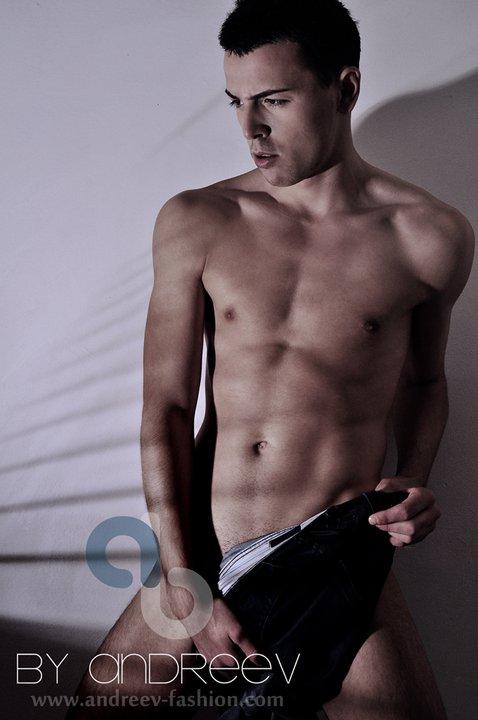 Male model photo shoot of Andreev-fashion